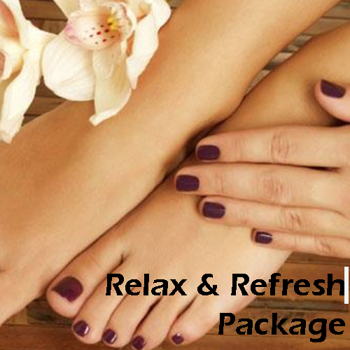 Package Relax & Refresh Card