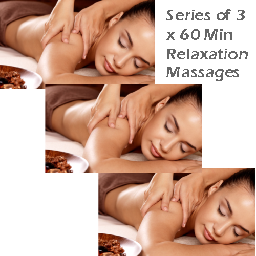 Series of 3 x 60 Min Relaxation Massages Card