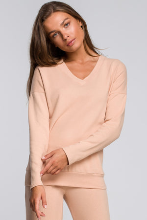 Cream Cotton Top - So Chic Boutique