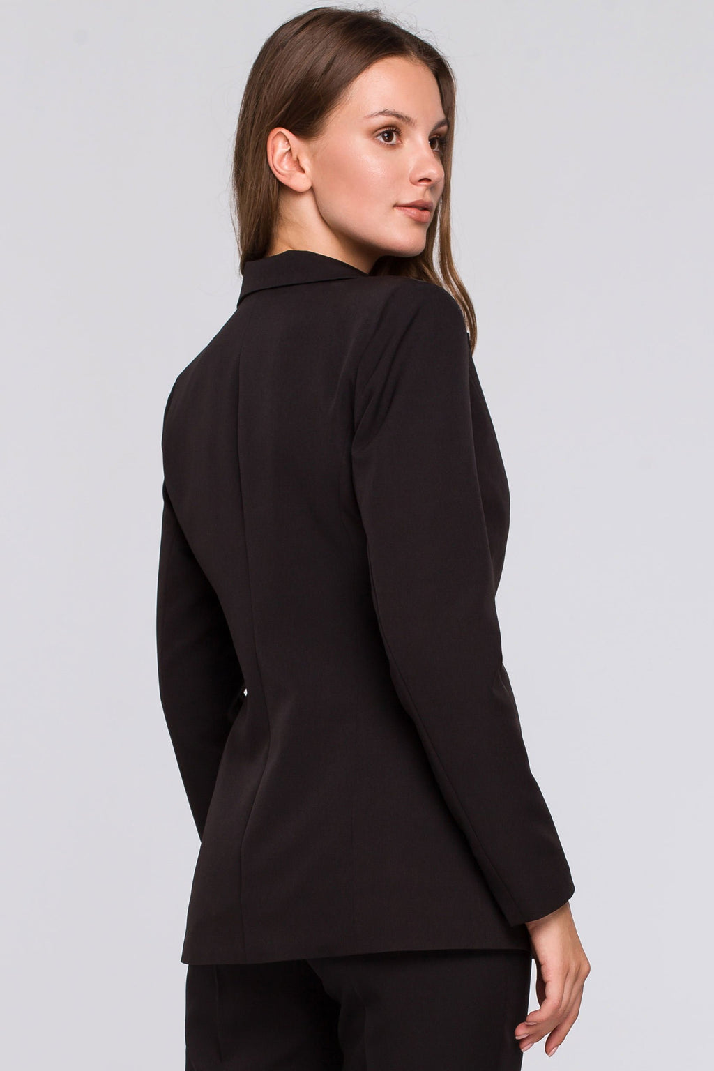 Single Button Black Blazer - So Chic Boutique
