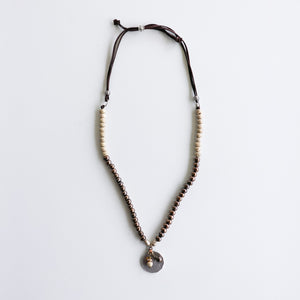 SwaziMUD™ Long Charm Necklace - Khutsala™ Artisans