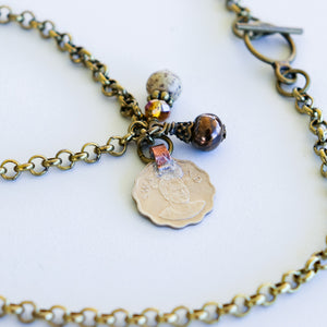Swazi Coin Necklace - Khutsala™ Artisans