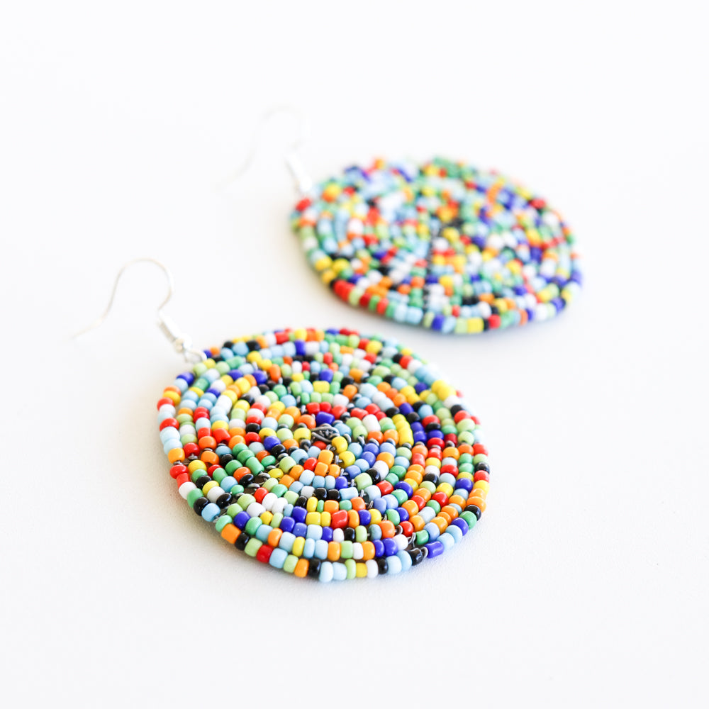 Disc Earrings - Khutsala™ Artisans
