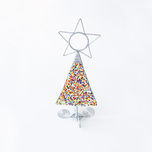 Beaded Christmas Tree (Multi Color) - Khutsala™ Artisans
