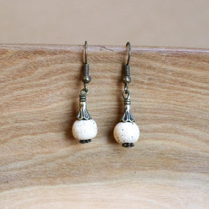 SwaziMUD™ Drop Bead Earrings - Khutsala™ Artisans