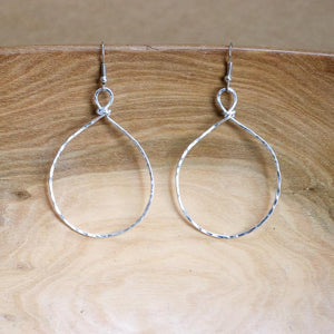 Large Infinity Earrings