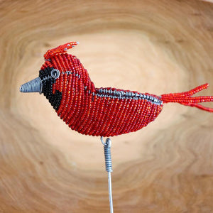 Beaded Critter and Bird Garden Stakes - Khutsala™ Artisans