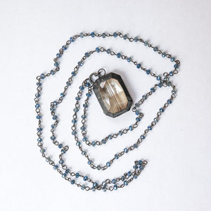 Rectangle Rosary Necklace - Khutsala™ Artisans