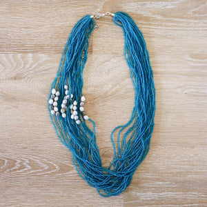 Long Beaded Necklace - Khutsala™ Artisans