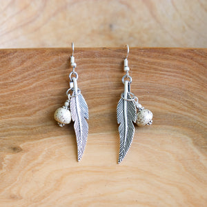 Leaf Earrings - Khutsala™ Artisans