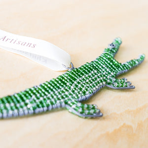 Crocodile Ornament - Khutsala™ Artisans
