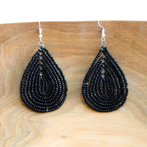 Unity Tear Drop Earrings - Khutsala™ Artisans