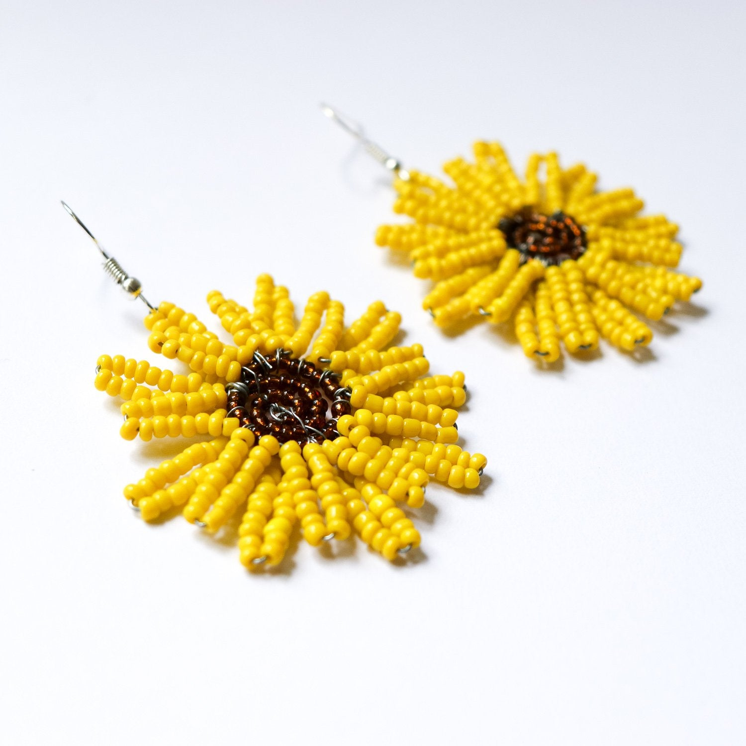 Flower Earrings - Khutsala™ Artisans