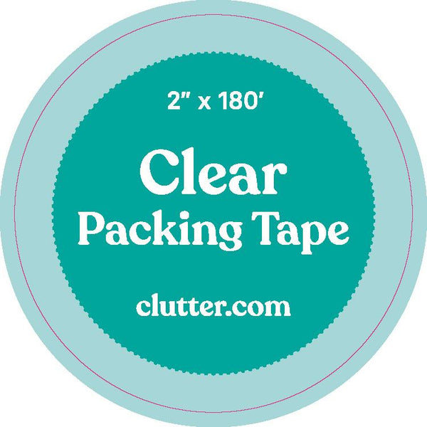 Clear Tape - Single Roll