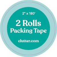 Clear Tape - 2 Pack