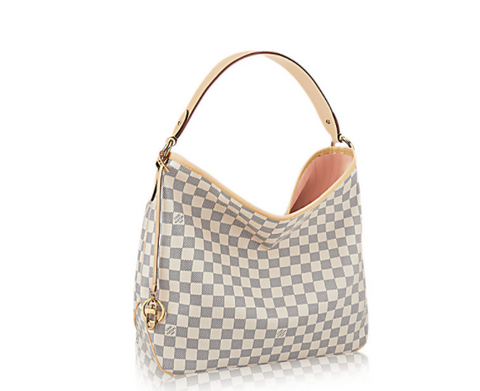 Delightful Style  Louis Vuitton Damier Azur Canvas