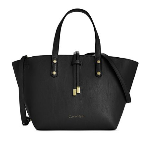 Calvin Klein Small Crossbody  Black Satchel