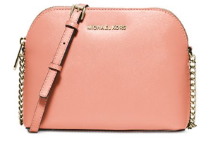MICHAEL Kors Peach Cindy Large Dome Crossbody