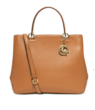 MICHAEL Michael Kors Anabelle Medium Top Zip Tote- gold