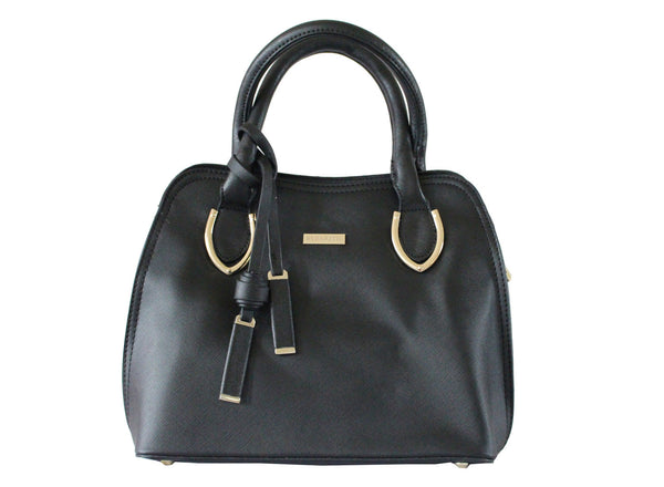 Ritzy Faux Leather Small Satchel