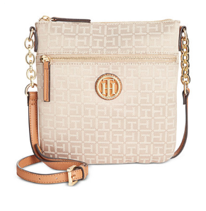 Tommy Hilfiger TH Monogram Jacquard North South Crossbody