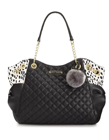 Betsey Johnson Spot Bow Tote