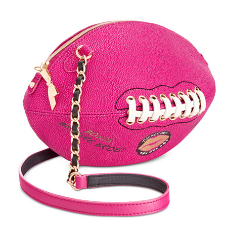 Betsey Johnson Football Crossbody