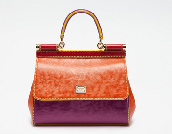 Orange Purple Sicily Mix  Bag