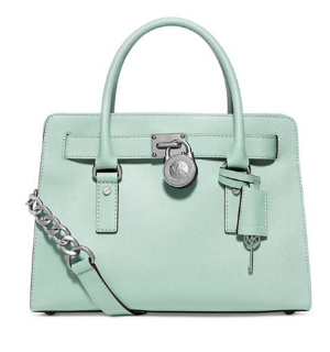 Green Apple -MICHAEL Hamilton Saffiano Leather