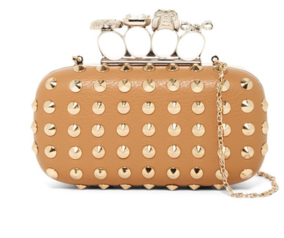 Studded Knuckle Duster Clutch