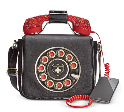 Phone Crossbody with Rhinestones