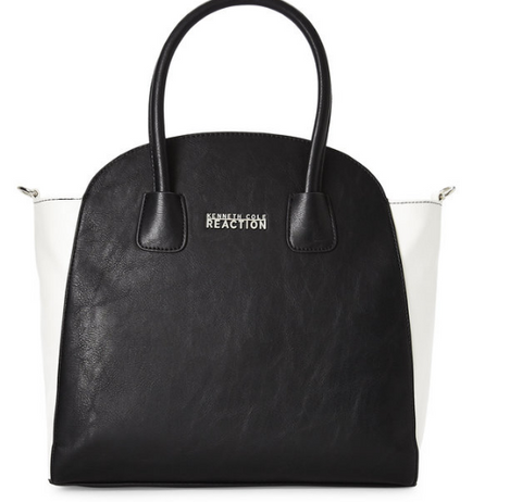 Kenneth Cole Reaction  Black Saturn Shopper Bag