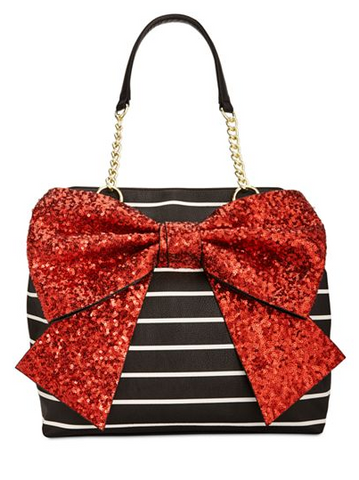 Betsey Johnson Red Bow Tie