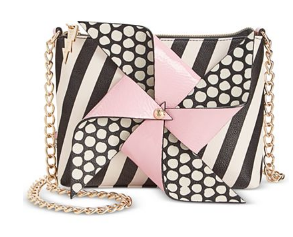 Stripe Pinwheel Crossbody