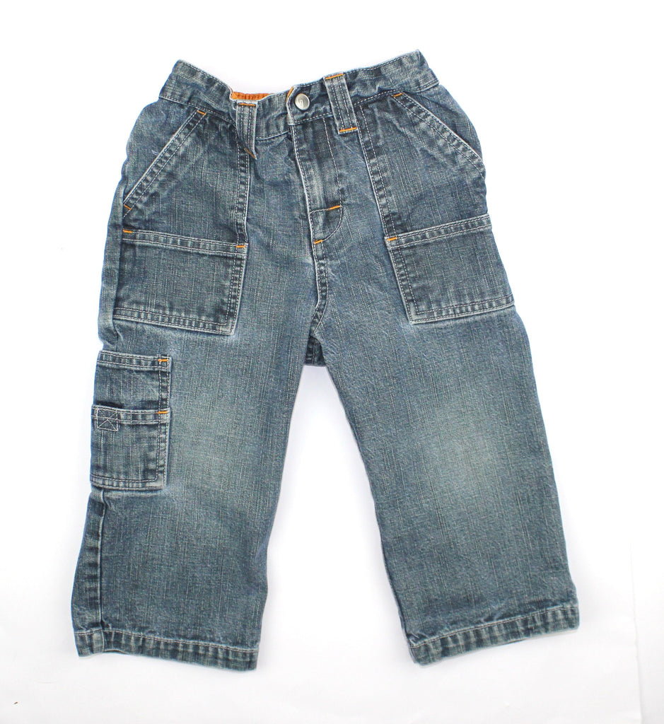 Gymboree Cargo Jeans, Size 2T - May Bug Treasures