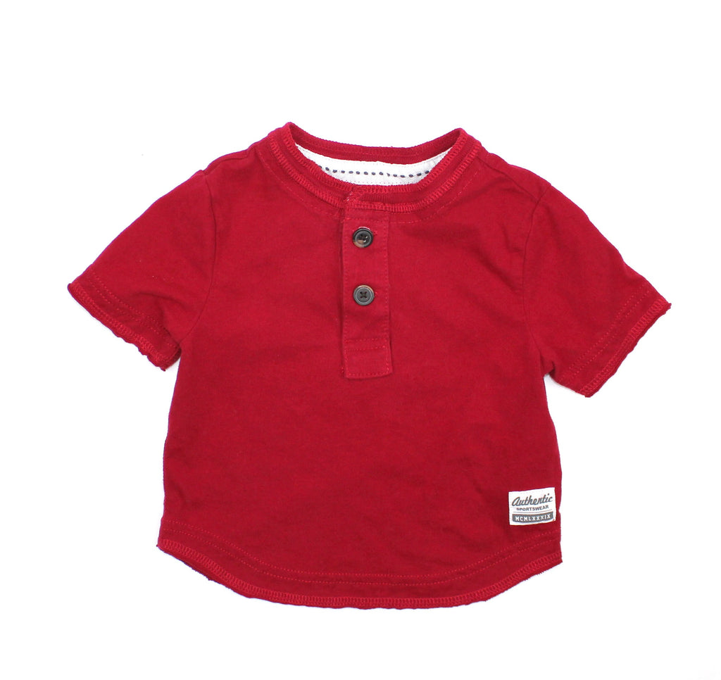 Children's Place Red T-shirt, Size 6-9 Months - May Bug Treasures