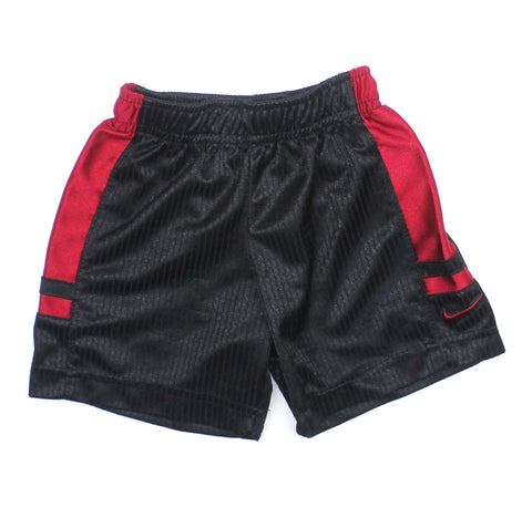 Kids Nike Black Shorts with Red Detail in Size 2 Available Online in Gently Used Kids Clothes Resale Shop May Bug Treasures