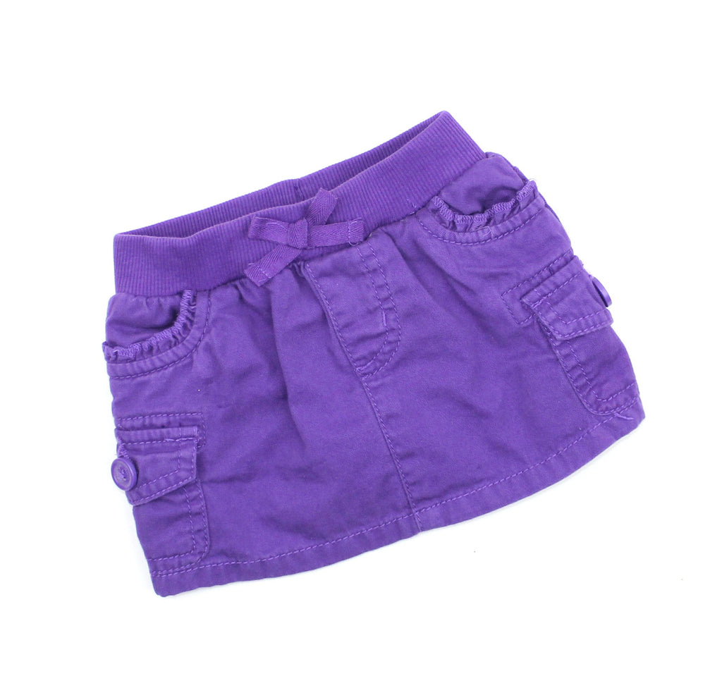 Children's Place Infant Purple Cargo Skirt, Size 6-9 Months - May Bug Treasures