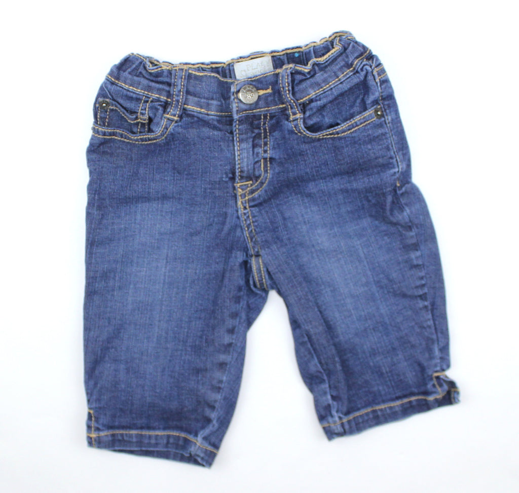 Childrens Place Kids Denim Long Shorts Size 6 - May Bug Treasures