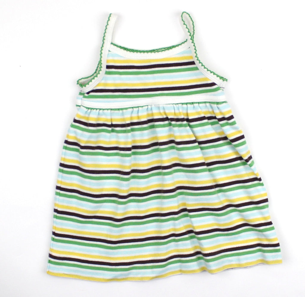Baby Gap Infant Striped Summer Dress, Size 0-3 Months - May Bug Treasures