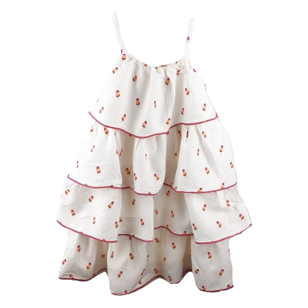 Hatley Brand New (NWT) Tiered Summer Dress, Size 4 - May Bug Treasures