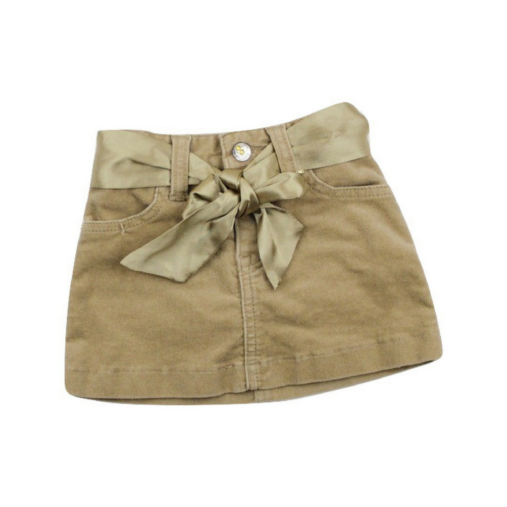 Children's Place Beige Stretch Corduroy Skirt, Size 18 Months - May Bug Treasures