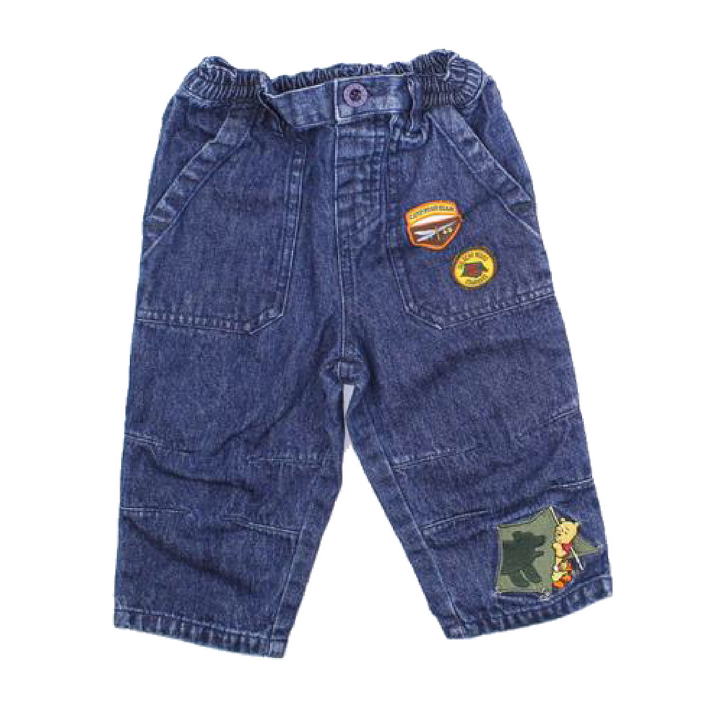 Disney Jeans with Winnie the Pooh, Size 6-12 Months - May Bug Treasures