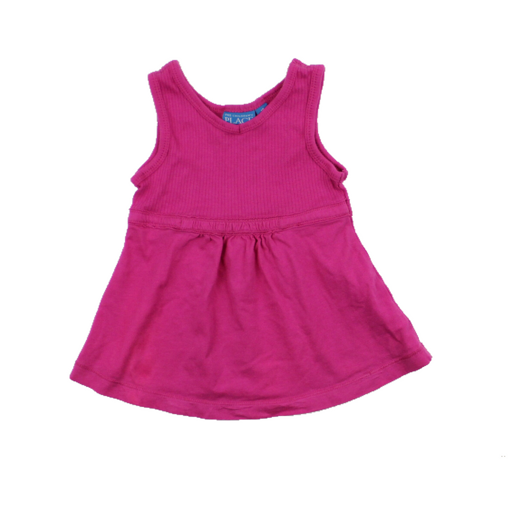 Children's Place Pink Sleeveless Tunic Top, Size 18 Months - May Bug Treasures