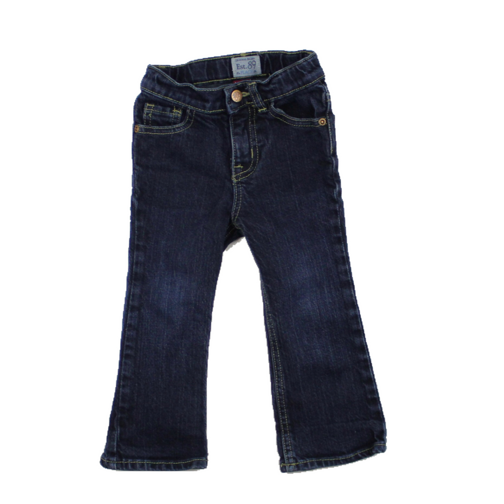Kids Boot Cut Stretch Jeans, Size 2T - May Bug Treasures