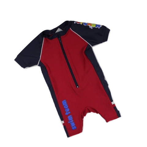 One-Piece Rash Guard Swimsuit, Size 12 Months - May Bug Treasures
