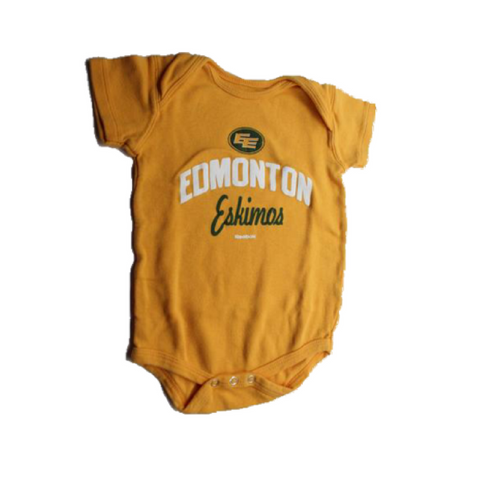 Toddler Edmonton Eskimos  One-Piece Bodysuit,- 18 months - May Bug Treasures