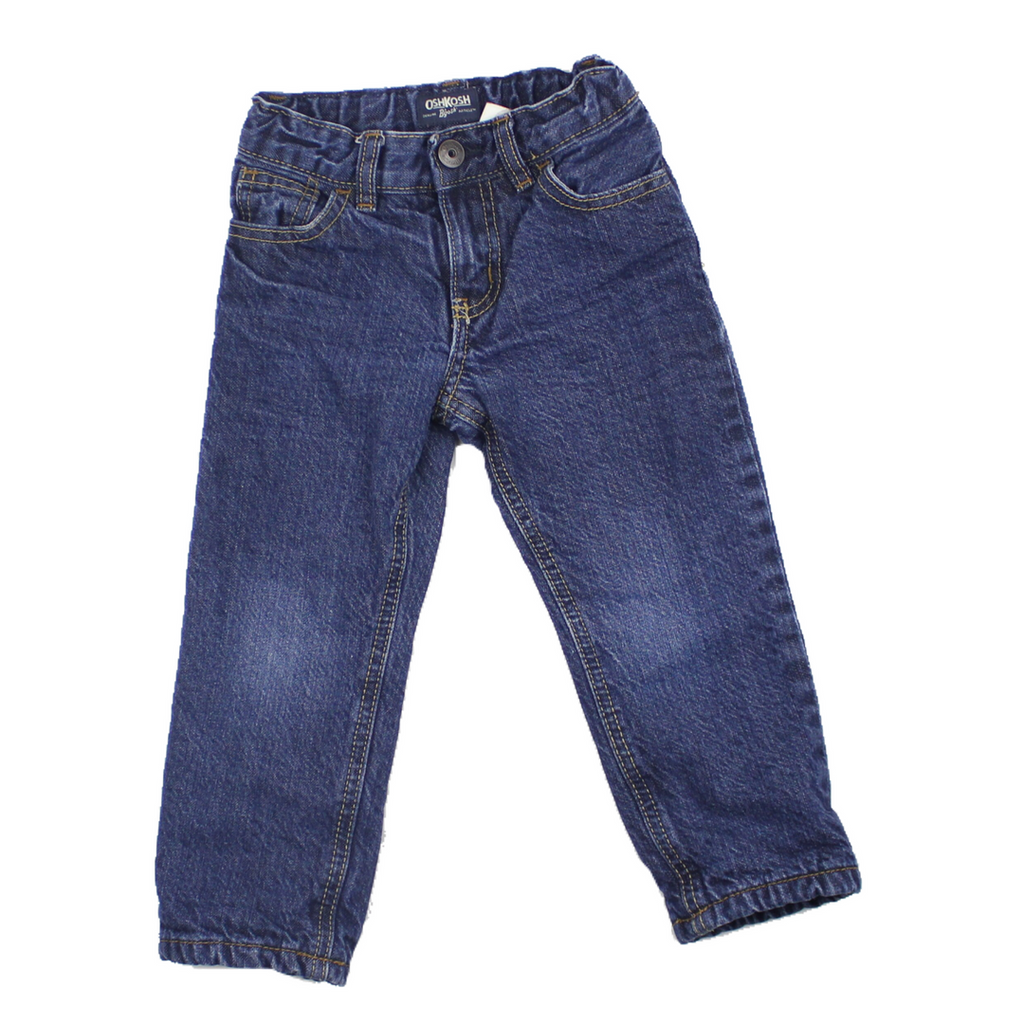 Osh Kosh Fleece Lined Jeans, Size 2T
