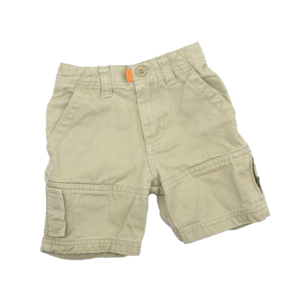 Baby Gap Toddler Beige Cargo Shorts, Size 12-18 Months - May Bug Treasures