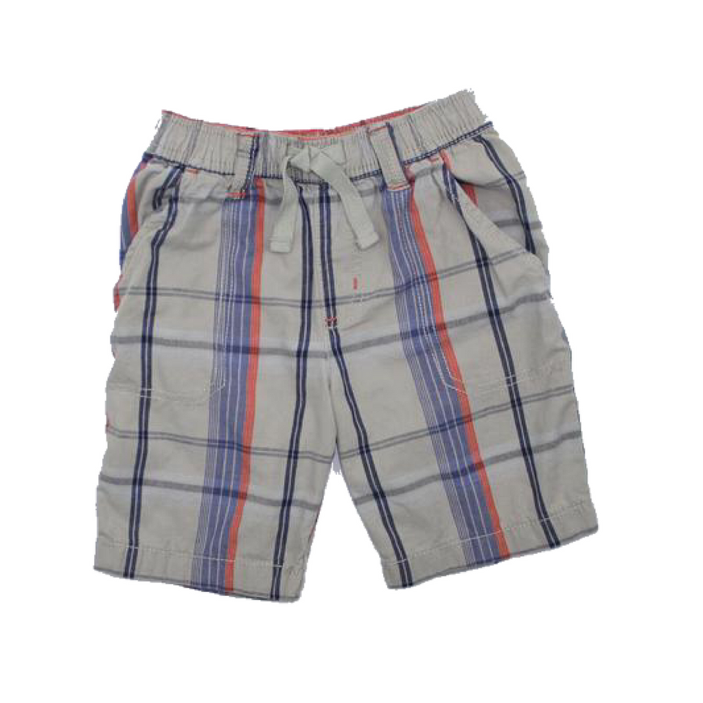 Cherokee Boys Plaid Shorts, Size 3X - May Bug Treasures